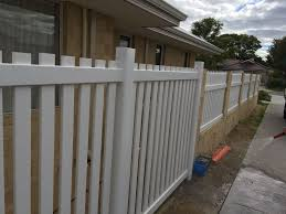 Polvin Pvc Fencing Perth Fencing Contractors Colorbond Gramline Polvin Pvc Slat Pool Hardie Gates