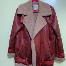 uo oversized faux leather