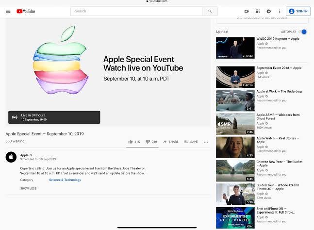 Hal-hal yang Perlu Diketahui dari #AppleEvent Malam Ini