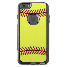 Skin For Otterbox Commuter Iphone 6 Plus Softball By Sports Sticker Ebay
