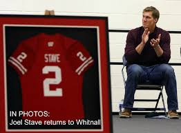 Joel Stave returns as football career is celebrated in ceremony at Whitnall  High School