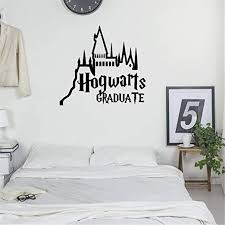 Harry Potter Quote Wall Sticker Room Hogwarts Wall Decal Vinyl Removable Home De