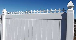 Decorative Fleur De Lis Pvc Strips Cornice Valance Indoor Outdoor Pvc Vinyl Fence Gate Topper 4 Strips Boards Buy Online In Oman The Fence Department Inc Products In Oman See Prices Reviews And