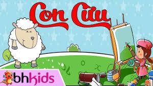 Hướng Dẫn Vẽ Con Cừu - Bé Tập Vẽ Con Vật - YouTube