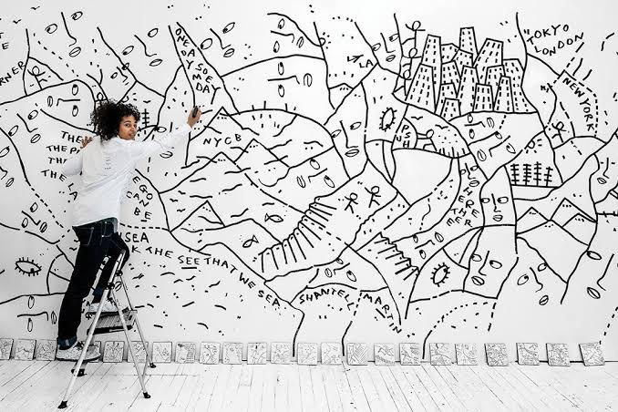 """Resultado de imagem para Shantell Martin"""""""