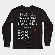 D'après votre avis - Avis - Long Sleeve T-Shirt | TeePublic