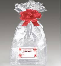 clear cello cellophane bags gift basket