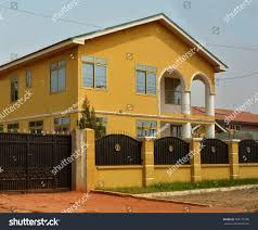 Modern Residential House Africa Fence Gate Stock Photo Edit Now 708171040