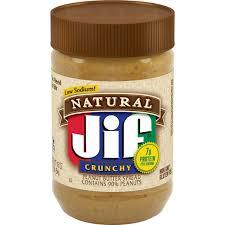 jif to go natural peanut er spread
