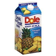dole 100 pineapple juice