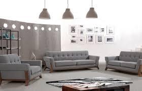 grey fabric sofa set new design