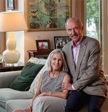 Perfect match: Margie and Stan Smith