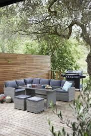 garden furniture sets corner sofa