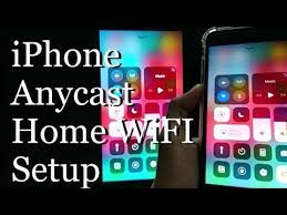 anycast m9 plus iphone home wifi setup