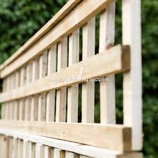 Square Trellis Top For Fence Panels Kudos Fencing Supplies
