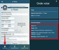 e-Título: como saber onde votar pelo celular | Produtividade