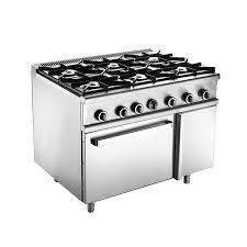 Bếp Âu 6 Họng MSM Có Lò Nướng | Bếp nhà hàng, Thiết bị bếp công nghiệp
