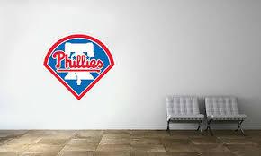 Philadelphia Phillies Logo Wall Decal Mlb Baseball Decor Sport Mural Vinyl Stick Ebay