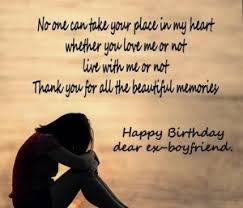best birthday wishes for ex bf boyfriend