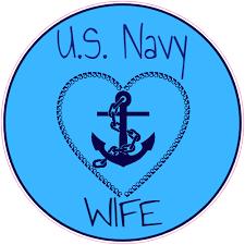 U S Navy Wife Sticker U S Custom Stickers