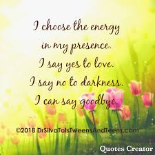 nancy m silva md on i choose the energy in my presence