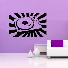 Vinyl Wall Decal Sticker Room Music Dj Mixer Stereo Sound Trance Edm Cool Wall Decals Stickers Stickers Roomvinyl Wall Aliexpress