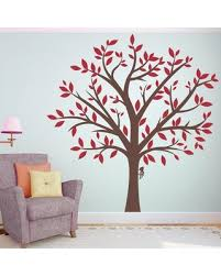 Big Deal On Large Family Tree Wall Decal Zoomie Kids Color Brown Red