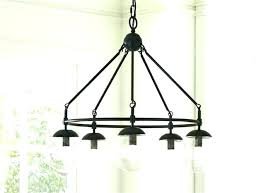 black metal flush mount lighting cage