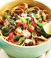 Thai Crab Pasta Recipe