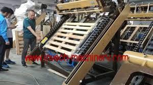 china wood pallet nailer machine for