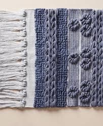 blue bra by brittany guarino bath mat