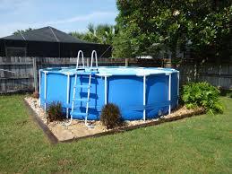 Landscaping Spring 2016 Backyard Pool Landscaping Pool Landscape Design Above Ground Swimming Pools