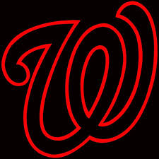 Washington Nationals Logo Car Decal Vinyl Sticker White