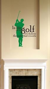 Golf Wall Decal Life As In Golf Vinyl Wall Stickers Word Art Etsy In 2020 Wall Stickers Sticker Wall Art Wall Stickers Words