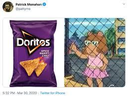 Doritos D W Holding Fence In 2020 Know Your Meme Doritos Memes