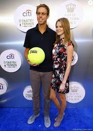 Sam Querrey et Abby Dixon lors de la soirée de gala The Citi Taste of  Tennis au Ciprian à New York City, New York, Etats-Unis, le 23 août 2018. ©  Charles Guerin - Purepeople