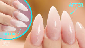 acrylic nail fill and makeover you