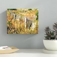 White Picket Fence Wall Decor Wayfair