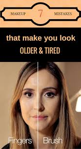 7 makeup mistakes that make you look