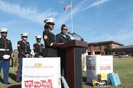 reservists aboard mclba kick off toys