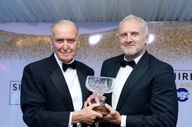 Steve Morgan presented with Lord Barry Jones Legacy Award - The ...