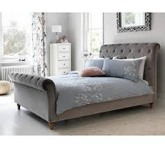 double bed frame silver at argos co