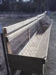 Challenged Survival Sheep Or Goat Feeder Pdf Plans Free Available To Download At Premier1supplies Goat Hay Feeder Goat Barn Sheep Feeders