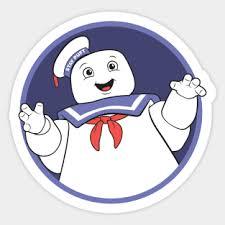 Stay Puft Marshmallow Man Stickers Teepublic
