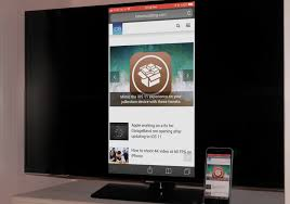 mirror your iphone or ipad on a smart tv