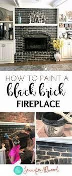 fireplace makeover black ideas