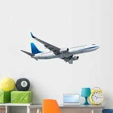 Airplane Wall Decal Wallmonkeys Com