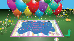Tarjeta De Invitacion Cumpleanos Animada En 3d Pop Up Peppa Pig