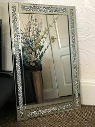 designer large jewel wall mirror