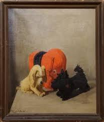 Lillian Gertrude Smith - Still Life Oil Painting of Toys Signed By Lillian Gertrude  Smith dated 1932